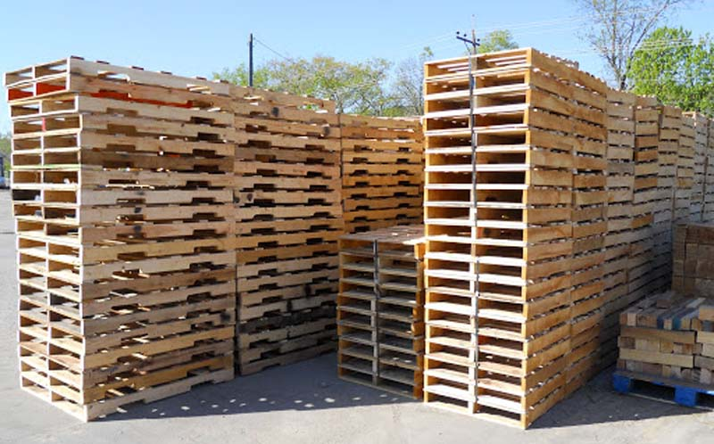 pallet kayu background